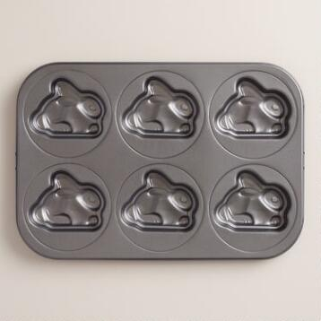 Bunny Nonstick Metal Baking Pan