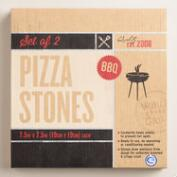 Cordierite Pizza Stones Set of 2