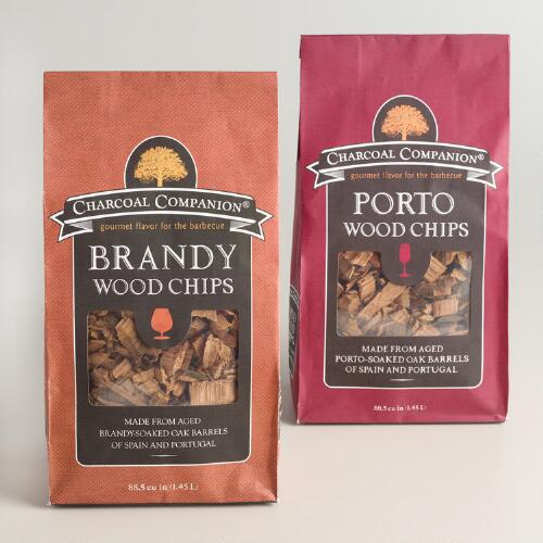 Brandy and Porto Wood Smoking Chips 2 Pack