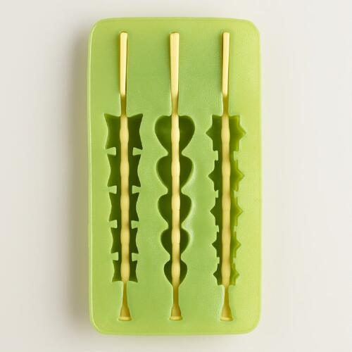 Ice Cube Skewer Tray
