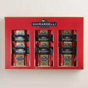 Ghirardelli Red and Gold Chocolate Gift Box