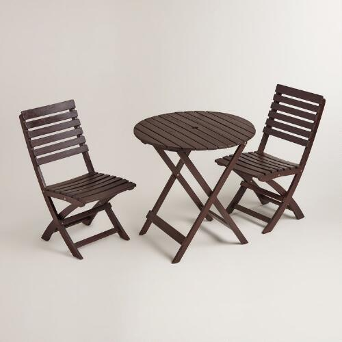 Espresso Mika Outdoor Dining Collection