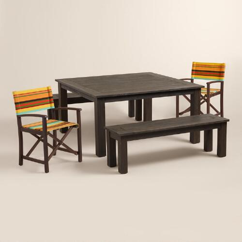 Espresso Hermosa Outdoor Dining Collection