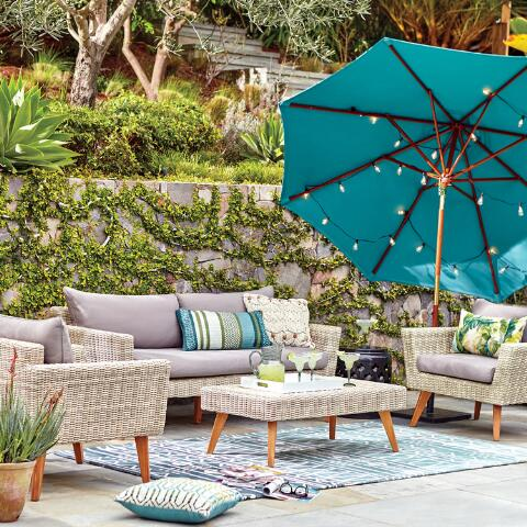 Marina Del Ray Outdoor Occasional Collection World Market