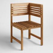 Wood Megano Corner Chair