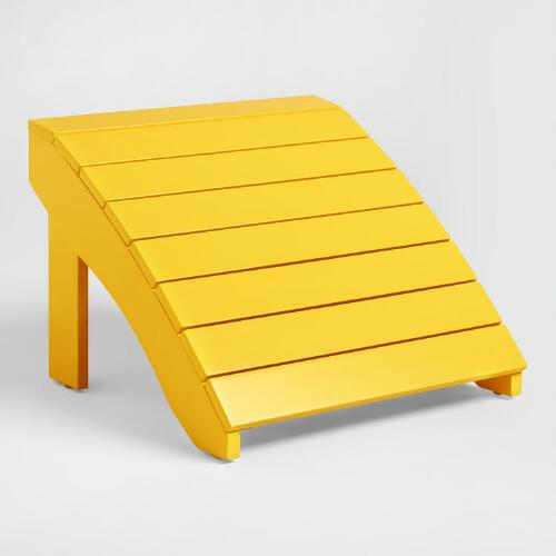 Lemon Adirondack Stool