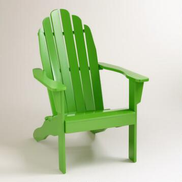 Lime Green Adirondack Chair