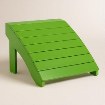 Lime Green Adirondack  Stool