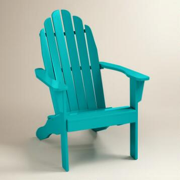 Capri Blue Adirondack Chair