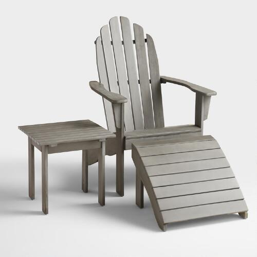 Gray Adirondack Collection
