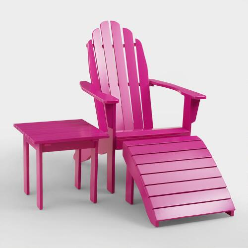 Fuchsia Red Adirondack Collection