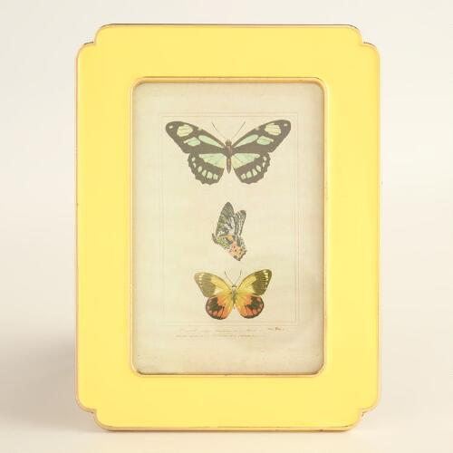 Yellow Enamel Frame