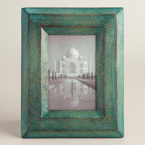 Everglade Green Painted Wood Frame
