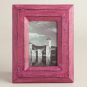 Aster Magenta Painted Wood Frame