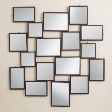 Black Gallery Mirror Panel