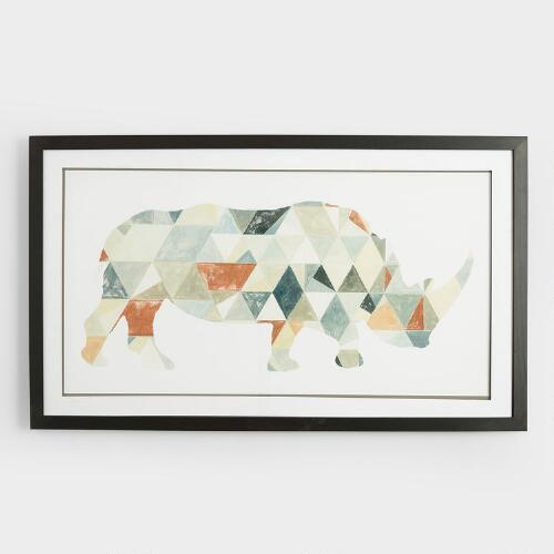 Connect Rhino Wall Art
