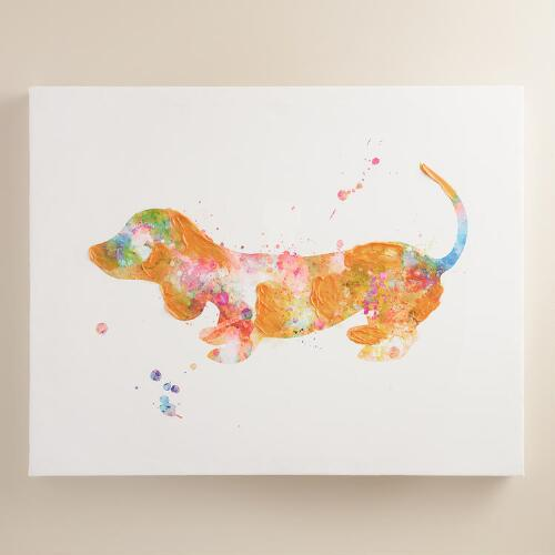 Textured Dachshund by Francesca Rizzato