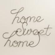 Wire Home Sweet Home Wall Art
