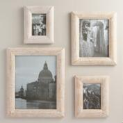 White and Gold Wood Wall Frame