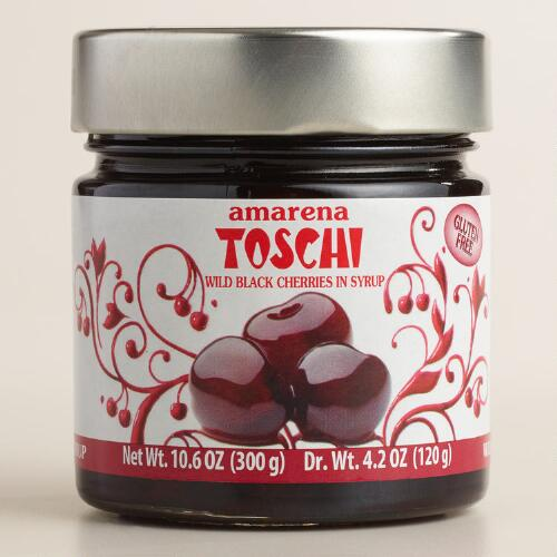 Toschi Amarena Cherries in Syrup