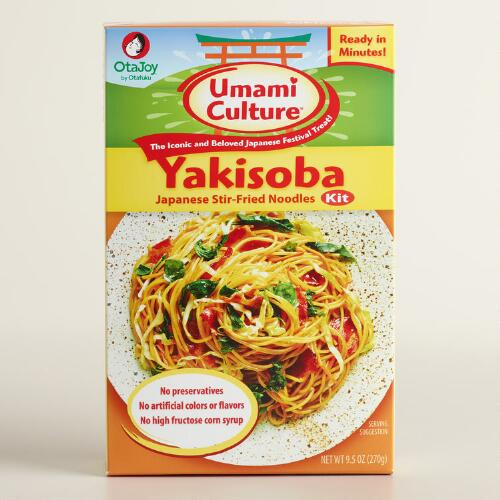 Yakisoba Japanese Stir- Fried Noodle Kit