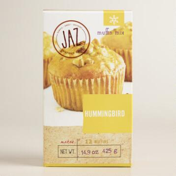 JAZ Hummingbird Fruit and Nut Muffin Mix Set of 2