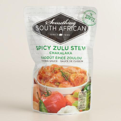 Something South African Spicy Zulu Stew Sauce