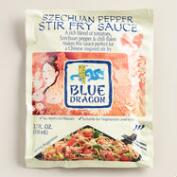 Blue Dragon Szechuan Pepper Stir Fry Sauce Set of 6
