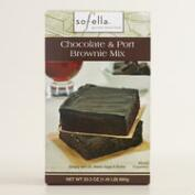 Sof'ella Chocolate and Port Brownie Mix Set of 2