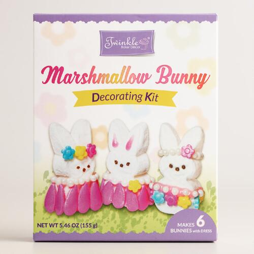 Twinkles Marshmallow Bunny Decorating Kit