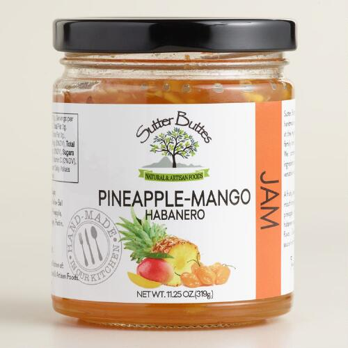 Sutter Buttes Pineapple Mango Habanero Jam