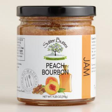 Sutter Buttes Spiced Peach Bourbon Jam