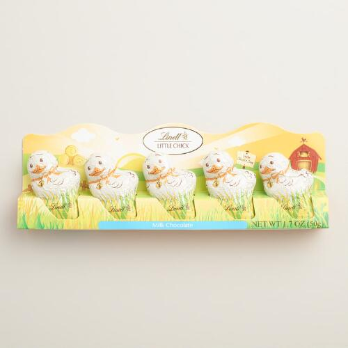 Lindt Milk Chocolate Little Chick, 5 Pack