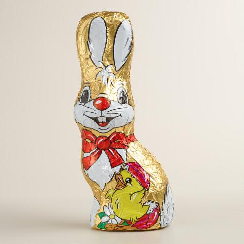 Riegelein Milk Chocolate Bunny with Chick