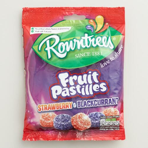 Rowntree Black Currant and Strawberry Fruit Pastilles