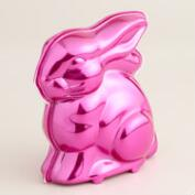 Frey  Milk Chocolate Bunny in Pink Metallic Tin