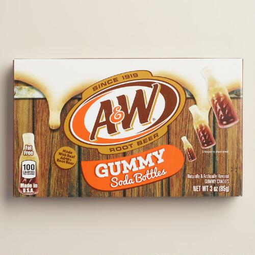 A and W Root Beer Licorice