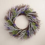 Lavender and Eucalyptus  Wreath