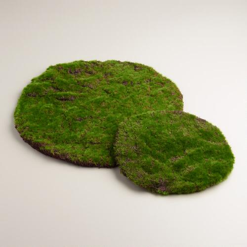 Round Mossy Table Mat