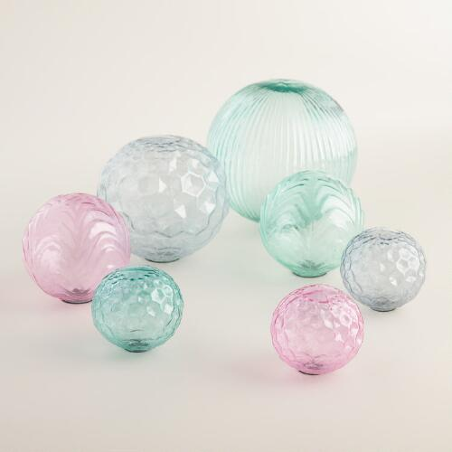 Glass Sphere Decor Collection