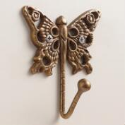 Bronze Butterfly Hook