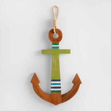 Wood Anchor Decor