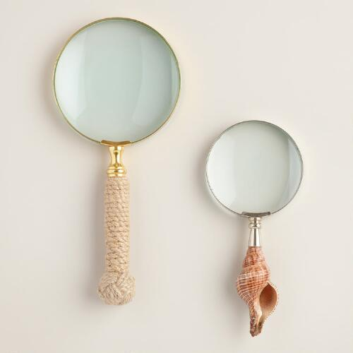 Decorative Handle Magnifying Glass