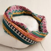 Multicolored Tribal Jersey Turban Headband