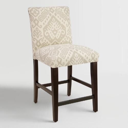 Dove Safi Kerri Upholstered Counter Stool