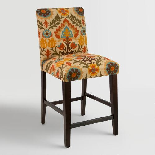 Adobe Santa Maria Kerri Upholstered Counter Stool