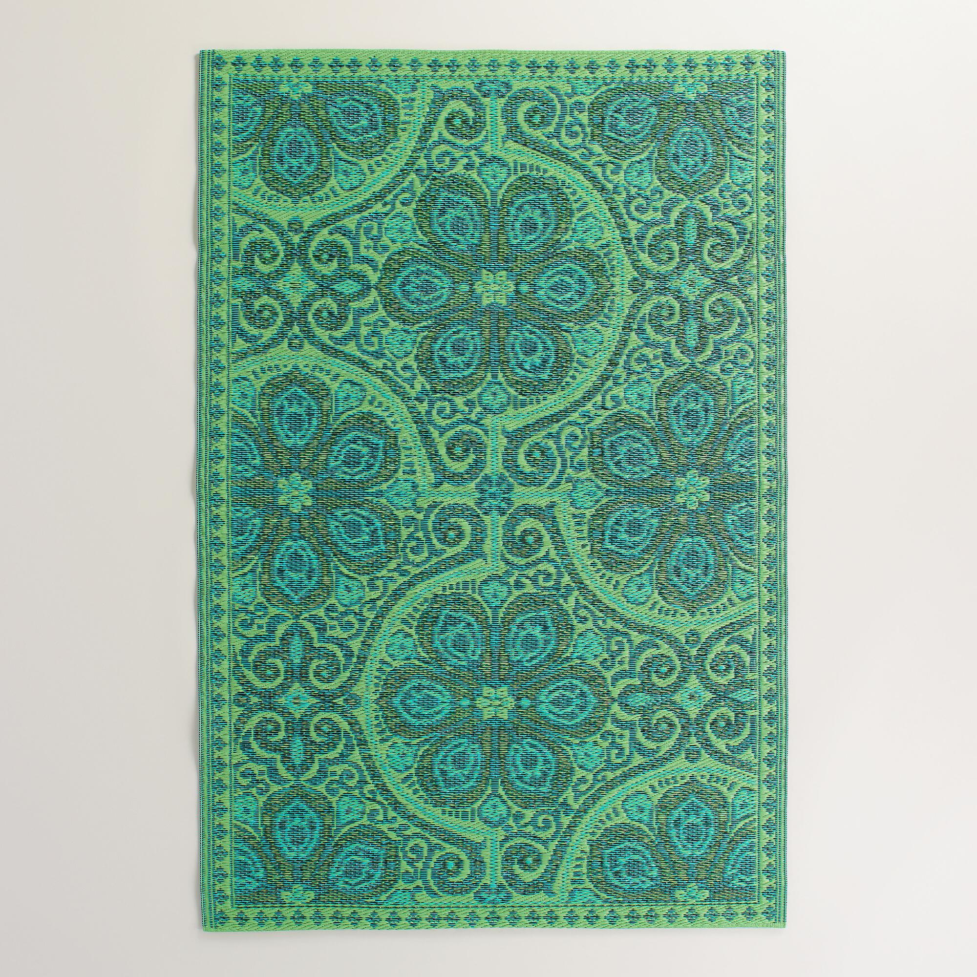 Green Nomad Reversible Rio Floor Mat World Market