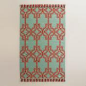 Red and Blue Alonso Indoor Outdoor Rug