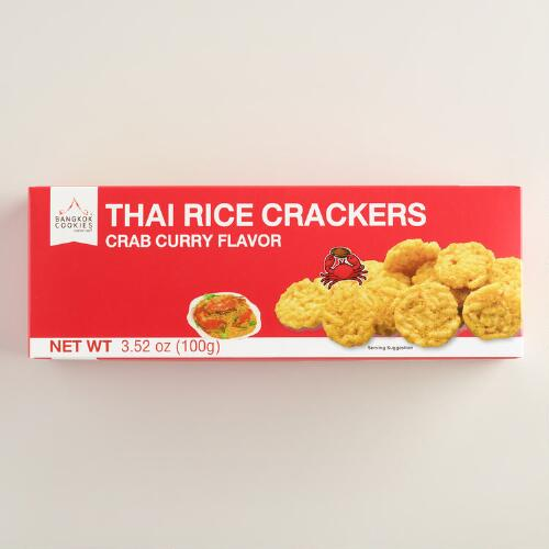Bangkok Crab Curry Cracker