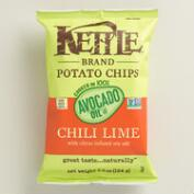 Kettle Brand Chili Lime and Avocado Oil Potato Chips